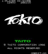 Tokio Arcade Title screen