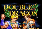 Double Dragon Arcade Title screen