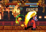 Double Dragon Arcade Flame fist