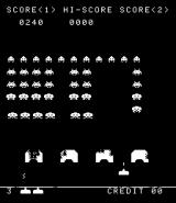 Space Invaders Arcade Black & white