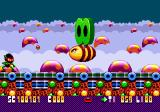 Zool Genesis Boss (with two green Life Savers on his back)