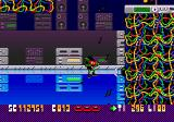 Zool Genesis Zool is blown up into the air by music notes