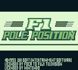 Title screen (F1 Pole Position).