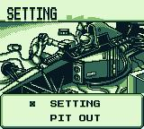 F1 Pole Position Game Boy Setting.