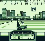F1 Pole Position Game Boy Phoenix street circuit. Bad times...
