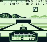 F1 Pole Position Game Boy About to enter the... Le Tunnel...