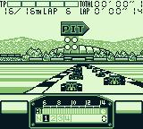 F1 Pole Position Game Boy Pit?!? The race has not even started...