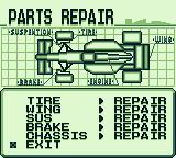 F1 Pole Position Game Boy Parts repair.