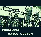 "F1 Pole Position Game Boy ... Meanwhile after a ""LONG journey""... Champion. Credits: ""Programer"" - Natsu System."
