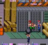 Double Dragon II: The Revenge Arcade Heavy iron ball