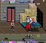Double Dragon II: The Revenge Arcade Fake terminator