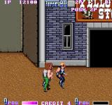 Double Dragon II: The Revenge Arcade Back kick