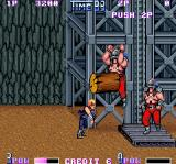 Double Dragon II: The Revenge Arcade First boss returns... with twin