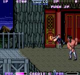 Double Dragon II: The Revenge Arcade Black guard