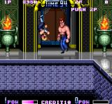 Double Dragon II: The Revenge Arcade In temple