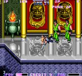 Double Dragon II: The Revenge Arcade Green twins
