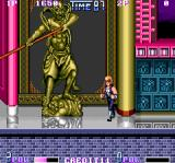 Double Dragon II: The Revenge Arcade Statue splits something