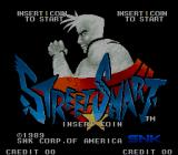 Street Smart Arcade Title Screen.