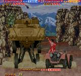 The Cliffhanger: Edward Randy Arcade Hit that tank with your whip Edward!