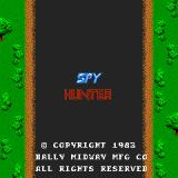 Spy Hunter Arcade Title screen