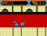 Wonder Boy in Monster World SEGA Master System Say hello to the blue knight