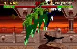 Mortal Kombat II Arcade Johnny Cage and his special move