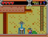 "Wonder Boy in Monster World SEGA Master System ""Ohh, a fountain here in Purapril. I could use a drink myself"""