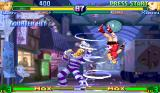 Street Fighter Alpha 3 Arcade Cody uses hurricane on Karin