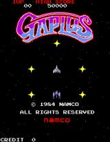 Galaga 3 Arcade Title screen - Gaplus