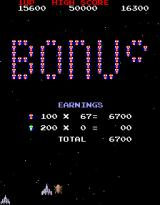 Galaga 3 Arcade I didn't complete it, but got enough to receive points.