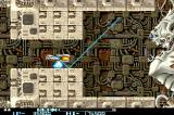 R-Type II Arcade Approaching the end of level boss.