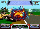 Road Riot 4WD Arcade You crashed.