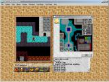 Exile III: Ruined World Windows 3.x Using the overhead map of the current area.