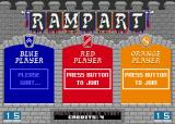 Rampart Arcade Awaiting other players.
