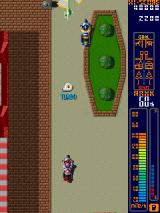 Rally Bike Arcade Turbo boost.