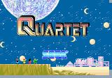 Quartet Arcade Title Screen.