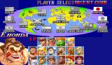 Super Street Fighter II Arcade Player select