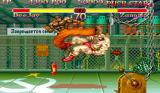 Super Street Fighter II Arcade Dee Jay kicks Zangief in face