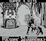 Killer Instinct Game Boy A 4 hit combo
