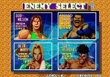 Fatal Fury 3: Road to the Final Victory Arcade Enemy selection