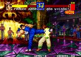 Fatal Fury 3: Road to the Final Victory Arcade Power kick