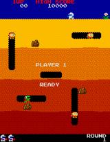 Dig Dug Arcade Level 1