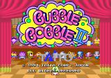 Bubble Symphony Arcade Title screen