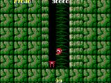 Rad Action Arcade The bonus stage - you have to make it to the top by wall-jumping (tricky)