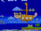 Parodius Arcade Flying pirate cat