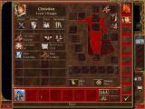 Heroes of Might and Magic III: The Restoration of Erathia Windows your hero's collectibles and troops