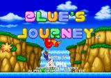 Blue's Journey Arcade Title screen