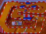 Ivan 'Ironman' Stewart's Super Off Road Arcade Finish line