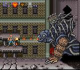 Contra III: The Alien Wars SNES First boss