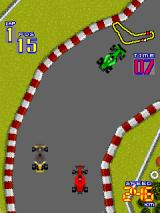 F-1 Grand Prix Arcade On a bend